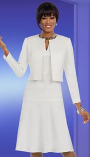 Ben Marc Executive 11590 ( 2pc Womens Church And Career Fit And Flare Dress With Jacket )
