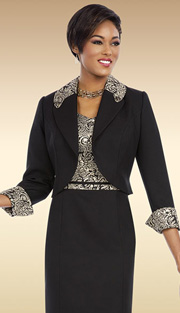 Ben Marc Executive 11600 ( 2pc Ladies Church And Caeer Dress With Cap Sleeve And Floral Print With Jacket )