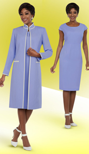 Ben Marc Executive 11694 ( 2pc Womens Business And Church Dress With Duster Style Jacket )