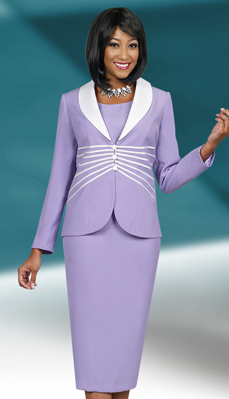 Ben Marc Executive 11516  ( 3pc  Church And Career Ladies Suit With Shawl Lapel )