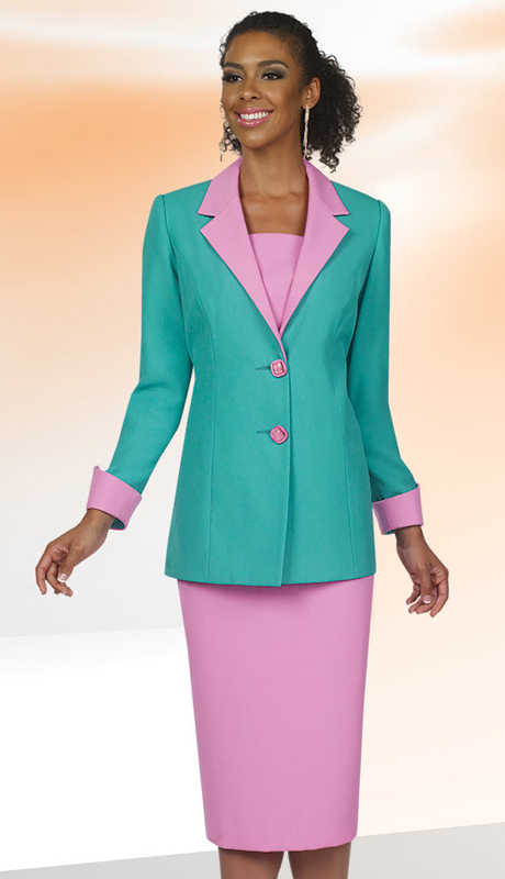 BenMarc Executive 11421 ( 2pc Womens Church And Career Suit )