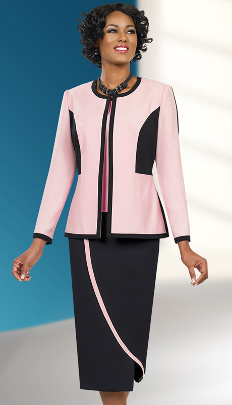 Ben Marc Executive 11545 ( 3pc Church And Career Suit For Women With Jacket, Cami And Skirt )