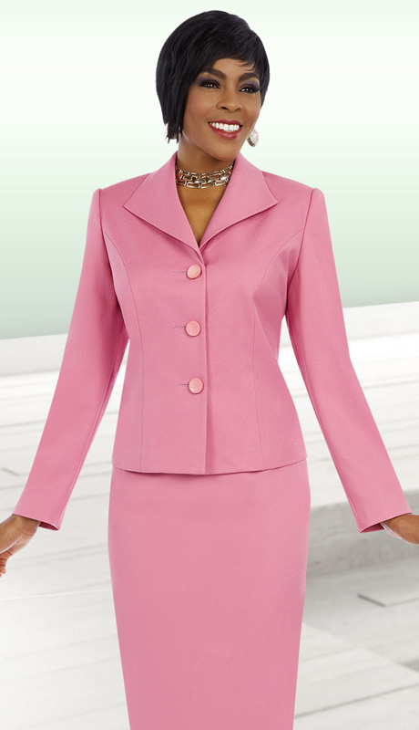 Ben Marc Executive 11617 ( 2pc Womens Church And Career Suit WIth Button Front Jacket And Skirt )