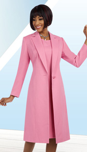 Ben Marc Executive 11632 ( 2pc Womens Chucrh And Career Dress Wityh Long Button Front Jacket )
