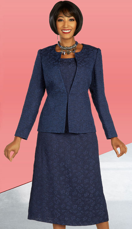 Ben Marc Executive 11852-NA ( 3pc Womens Church And Career Skirt Suit )