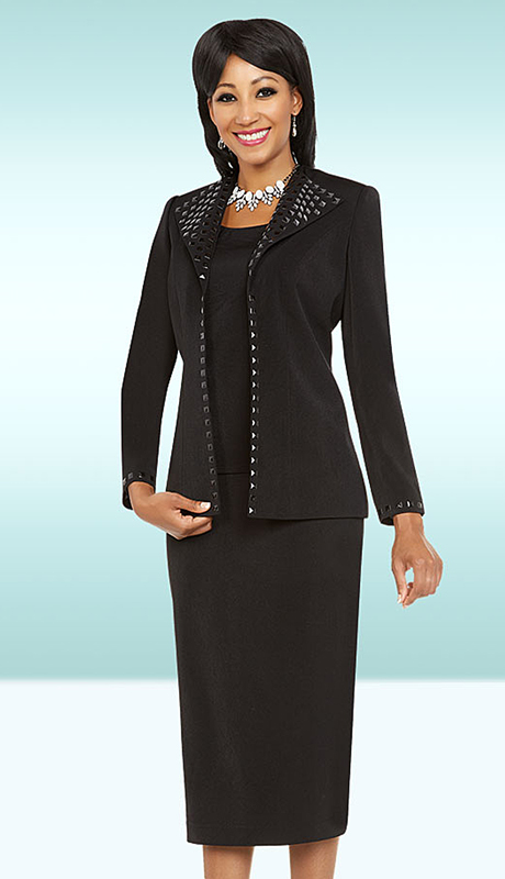 Ben Marc Executive 11740-BK ( 2pc Church And Career Dress )