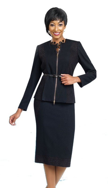 Ben Marc Executive 11469 ( 2pc Belted Dress )