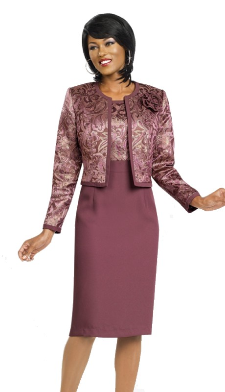 Ben Marc Executive 11474 ( 2pc Print Jacket Dress )