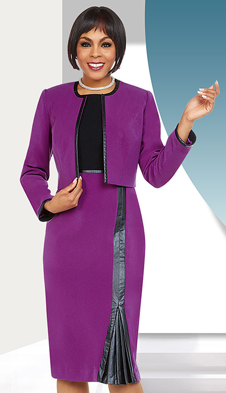 Ben Marc Executive 11724-MB ( 2pc Church And Career Dress )