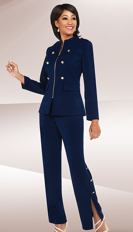 Ben Marc Executive 11717-NA ( 2pc Church And Career Pant Suit )