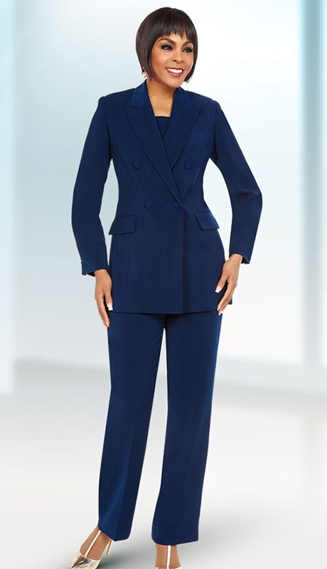 Ben Marc Executive 11711-NA ( 2pc Church And Career Pant Suit )