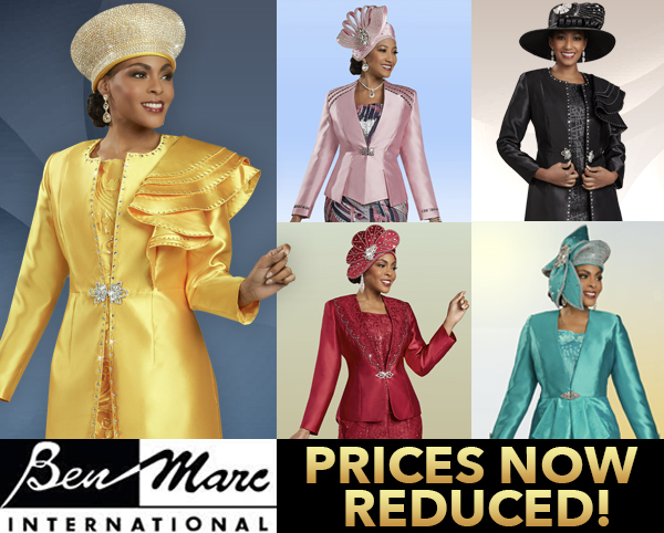 Exclusive Ben Marc Designer Sunday Suits Spring And Summer 2019