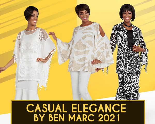 Casual Elegance By Ben Marc Spring And Summer 2019