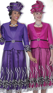 Champagne Italy 5003 ( 3pc Novelty Womens Church Suit With Jacket, Vest And Sheer Layered Skirt With Embroidered Applique )