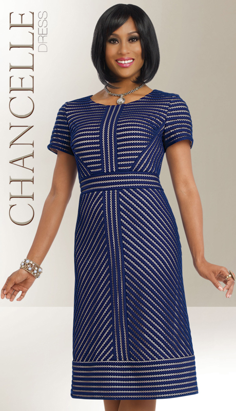 Chancelle 1802-CO ( 1pc Designer Dress )