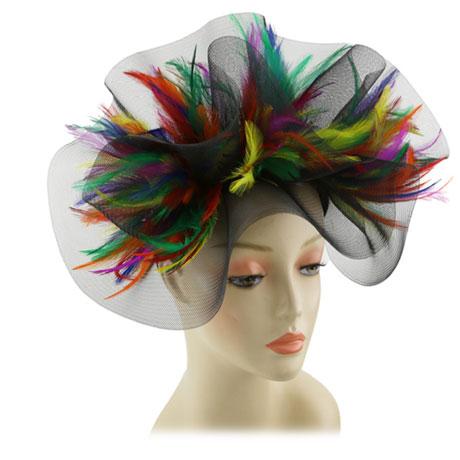 Fascinator 174HB-CO ( Church Hat )