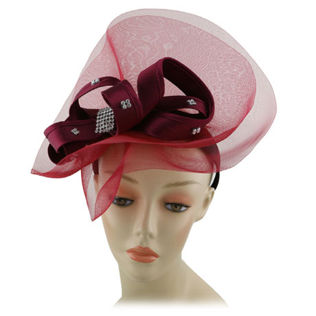 Fascinator 181HB-CO ( Church Hat )