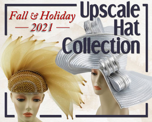 Our Upscale Church Hats Fall & Holiday 2020