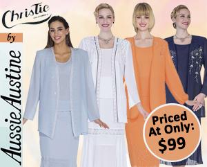 Christie Aussie Austine Ladies Georgette Church Suits Spring And Summer 2018