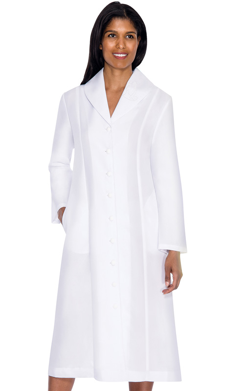 G11674-WHT-CO ( 1pc GMI Church And Choir Robe )