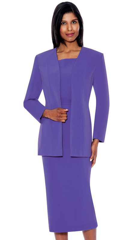 G13270-PE ( 3pc PeachSkin GMI Church And Choir Suit ) <b> ( Each Suit Includes Free Pair Of White Gloves )</b>