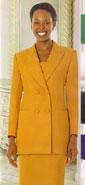GMI 12269-IH ( 3pc PeachSkin GMI Church And Choir Suit )<b> ( Each Suit Includes Free Pair Of White Gloves )</b>