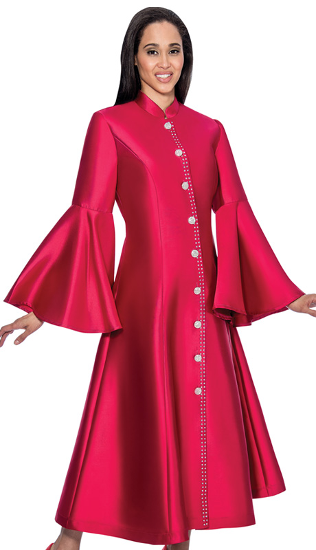 RR9031-BUR-CO ( 1pc GMI Church And Choir Robe With Bell Sleeve )