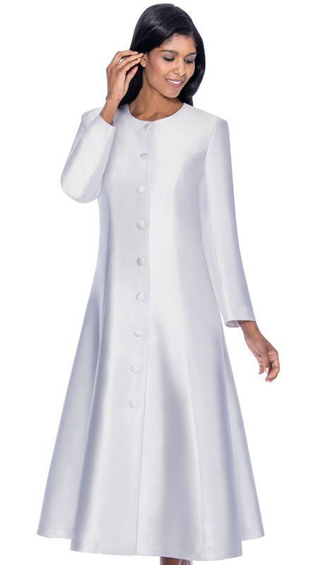 RR9041-WH ( 1pc GMI Church And Choir Robe )-CO