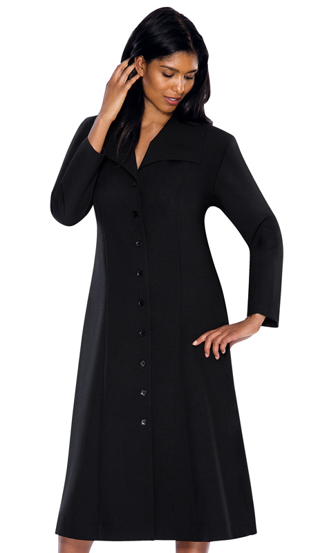 G11573-BLK ( 1pc GMI Church And Choir Robe )