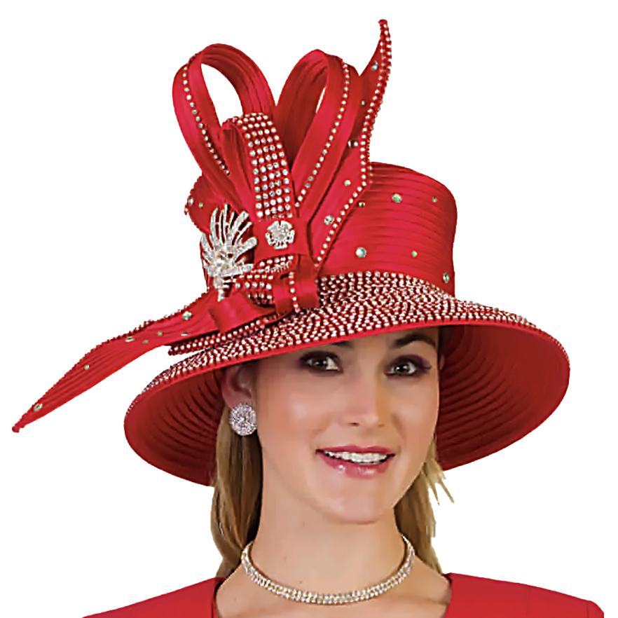Lily And Taylor Hat H589-RE-CO