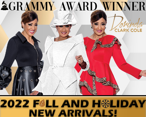 Dorinda Clark Cole Fall And Holiday Suits 2018