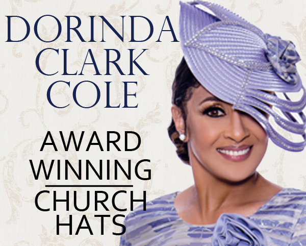 Dorinda Clark Cole Church Hats