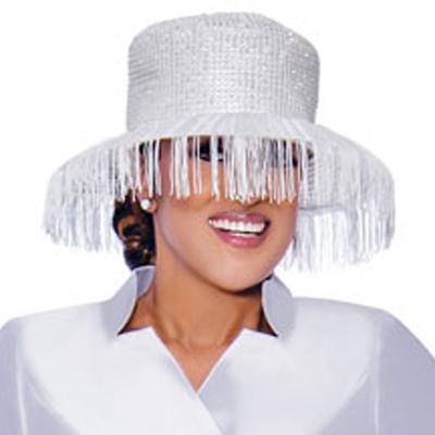 Dorinda Clark Cole Church Hat 9032-WH