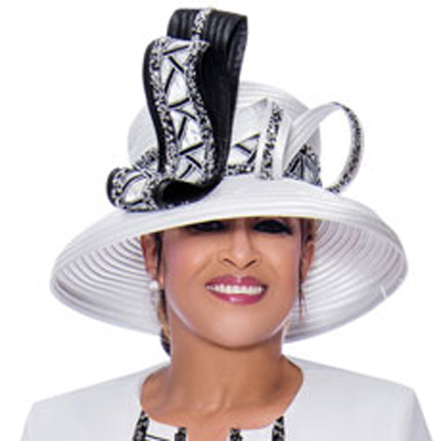 Dorinda Clark Cole Church Hat 9083