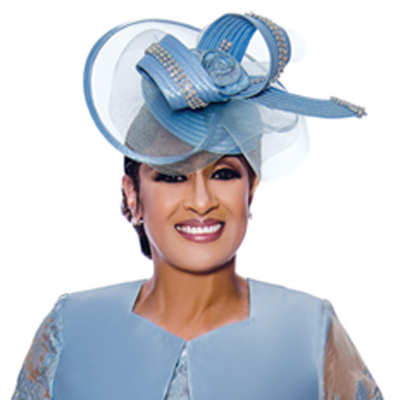 Dorinda Clark Cole Church Hat 2452-CO