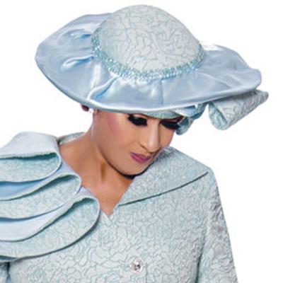 Dorinda Clark Cole Church Hat 9042-BL