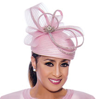 Dorinda Clark Cole Church Hat 9053-PI-CO