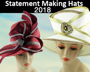 Statement Making Designer Hats For Church Fall And Holiday 2018