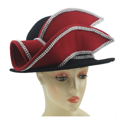 8269 ( Womens Wool Felt Church Hat )