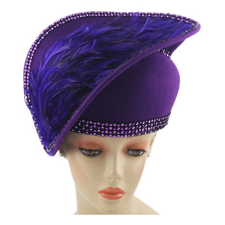 8271 ( Wool Felt Church Hat )