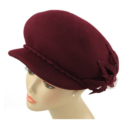 CM248 ( Wool Felt Hat For Church )