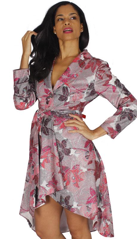 Diana Couture 8576-MU ( 1pc Novelty Dress With Sash )