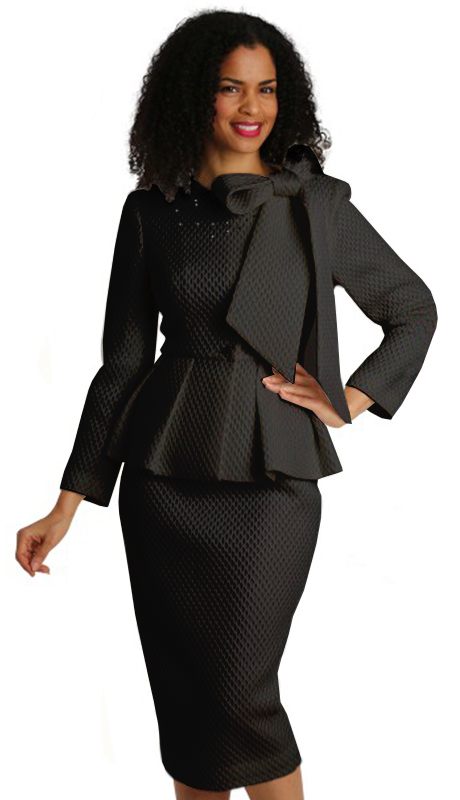 Diana Couture 8252-B ( 2pc Novelty First Lady Suit )