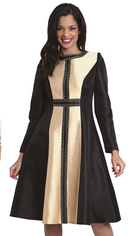 Diana Couture 8071 ( 1 Pc Church Dress )