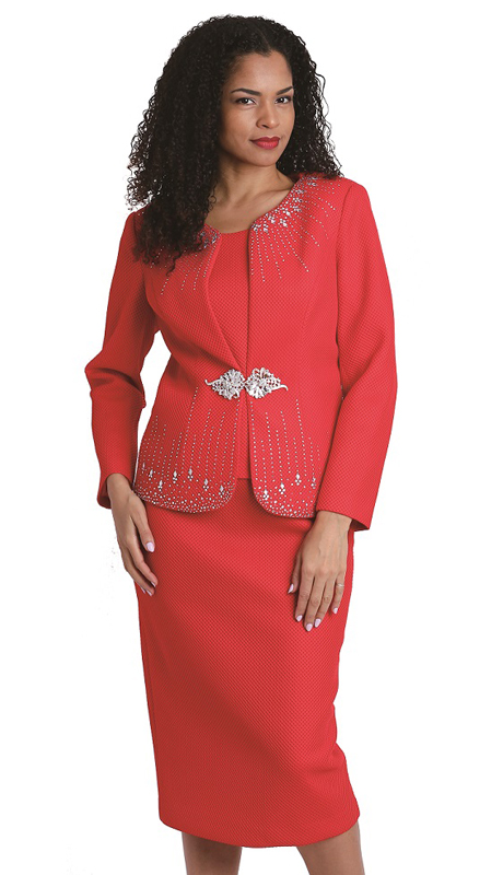 Diana Couture 8136 ( 3pc Ladies Novelty Suit For Church )