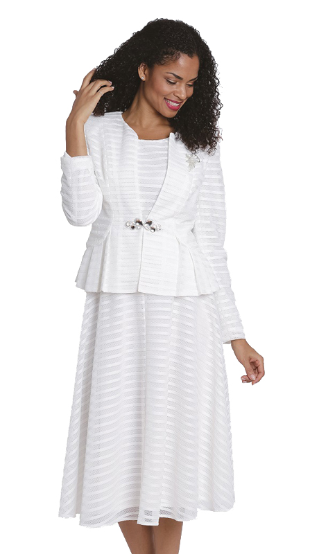 Diana Couture 8141 ( 3pc Ladies Novelty Suit For Church )