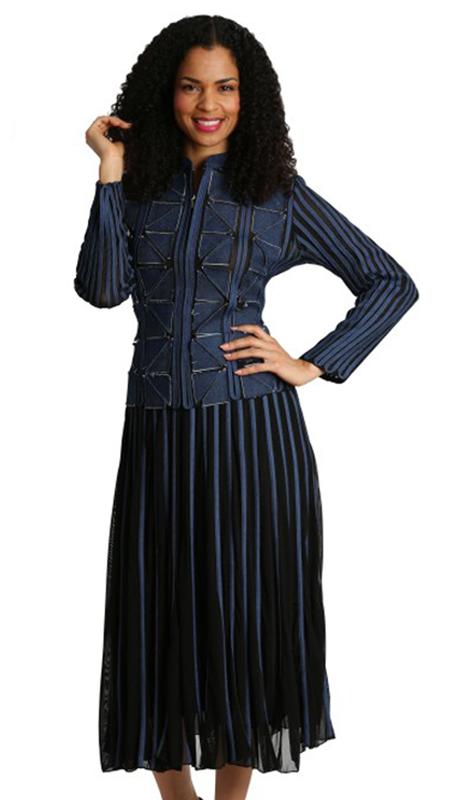 Diana Couture 8240-NA ( 2pc Renova Dress For Sunday )