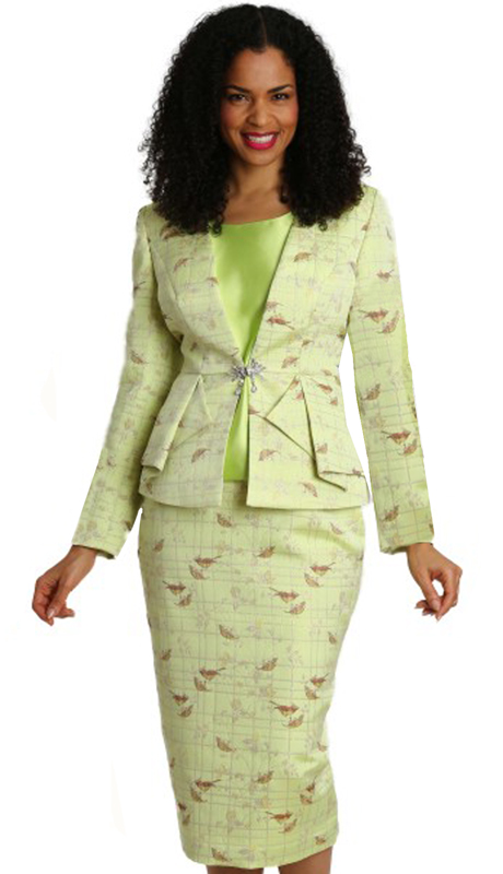 Diana Couture 8286-IP ( 3pc Novelty Womens First Lady Suit )