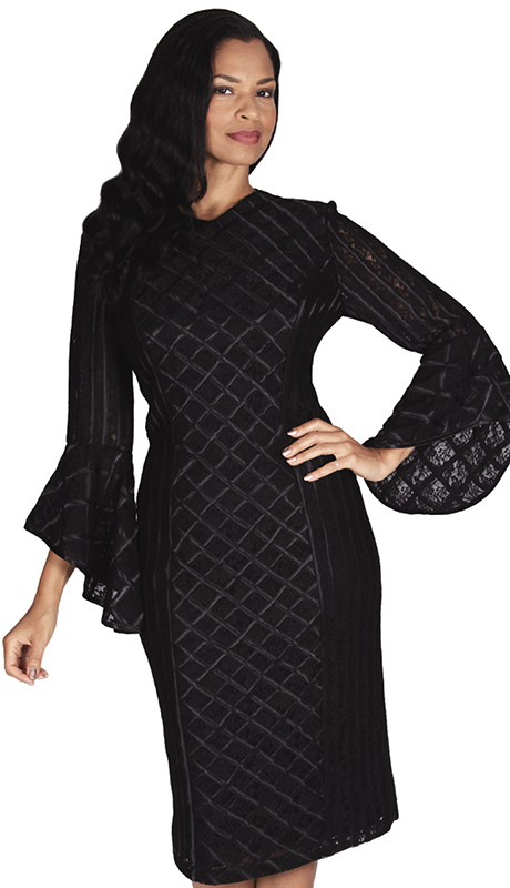 Diana Couture 8566-BLK