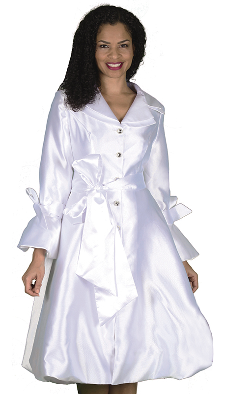 Diana Couture 8222-WHT-CO